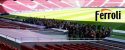 Ferroli elige el estadio Wanda Metropolitano para su presentación de novedades de producto 2018
