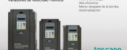 Variación de velocidad para bombeo solar: TDS600 de Toscano