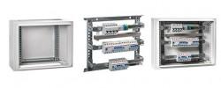 Nuevo bastidor extraíble en los armarios de distribución eléctrica IP40 e IP65 de la serie Atlantic de IDE