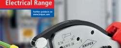Electrical Range es el nuevo catálogo de Knipex para el sector eléctrico