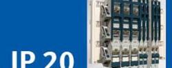 El sistema con protección IP20 de Pronutec garantiza un montaje fácil y seguro