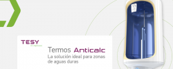 Tesy mejora su gama de termos eléctricos Anticalc con nuevas prestaciones y más ventajas