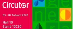 CIRCUTOR presentará sus nuevas marquesinas para crear energía fotovoltaica en Genera 2020
