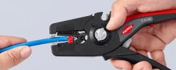 PRECISTRIP 16 es el nuevo pelacables autoajustable KNIPEX: Sencillez y Seguridad