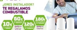 TESY lanza una promoción dirigida a instaladores con premios en combustible