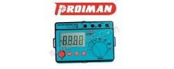 El medidor de aislamiento Proiman destaca por su precisión y sencillez