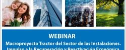 ADIME: Webinar Macroproyecto Tractor del Sector de las Instalaciones.