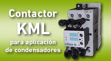 Nuevo contactor KML para aplicación de condensadores de LIFASA