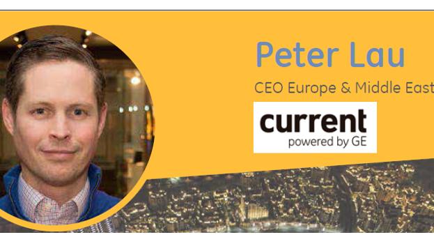 El nuevo CEO EME de GE Lighting se hace cargo de la start-up, Current