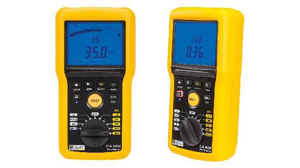 Chauvin Arnoux presenta sus nuevos Controladores de Aislamiento 1 kV