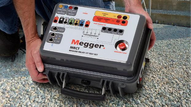 El analizador de transformadores de corriente MRCT de Megger supera los ruidos eléctricos