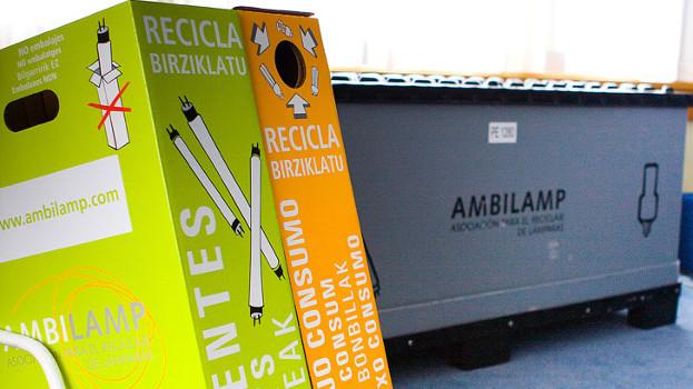 AMBILAMP y AMBIAFME recogieron y trataron más de 5.000 toneladas de residuos de material eléctrico en 2018