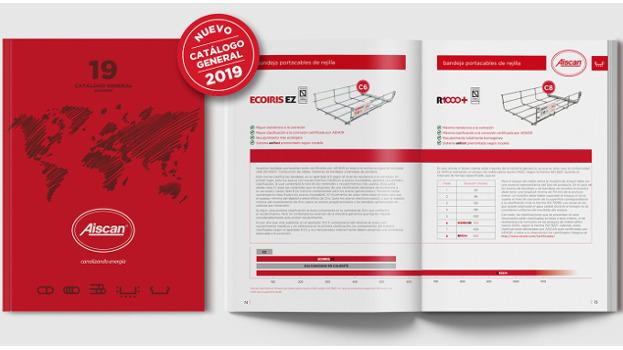 Aiscan presenta nuevo catálogo general 2019