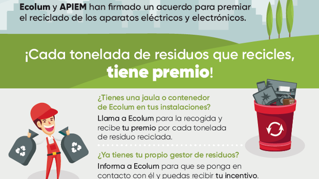 Ecolum acercó el reciclaje de Raees a los instaladores en el marco de Eficam 2019