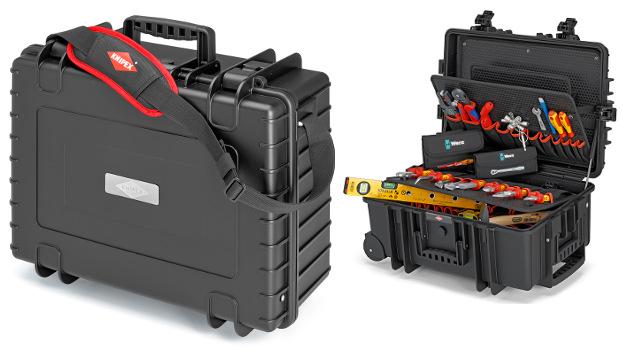 """Las nuevas maletas """"Robust 34 y Robust 45"""" de Knipex garantizan un transporte seguro de las herramientas"""