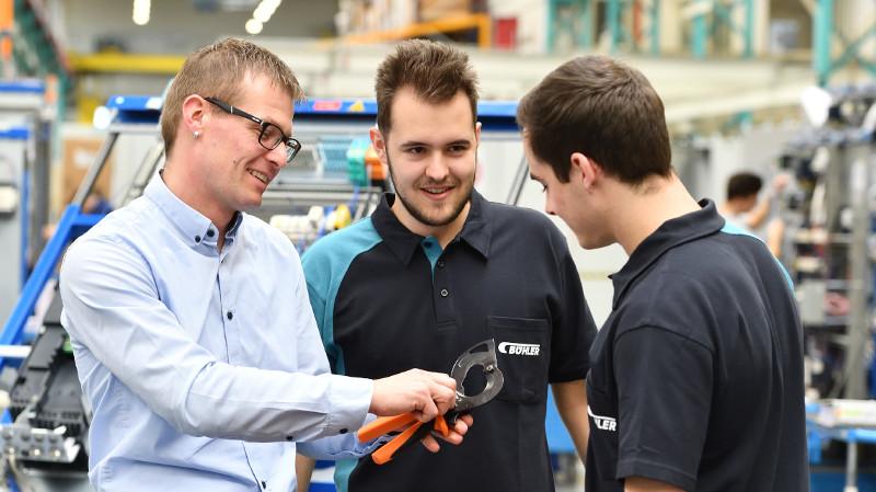 Las soluciones de Weidmüller han ayudado a aumentar la eficiencia de los procesos en el Grupo Bühler