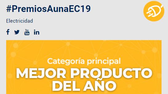 Premios AUNA 2019: Premios a los mejores productos del año de electricidad, fontanería, climatización y calefacción