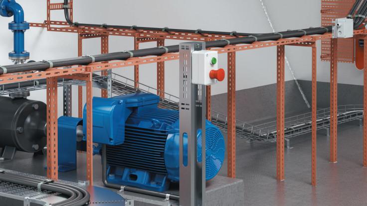 OBO especialista en sistemas adecuados para las exigencias especiales en equipamiento electrotécnico de barcos