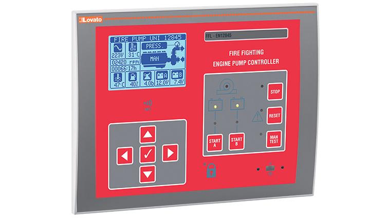 Los nuevos controladores de bomba de fuego eléctrica de Lovato Electric simplifican el mantenimiento