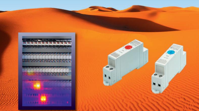 El termostato de panel 7T de Finder aumenta la fiabilidad y el rendimiento al tiempo que protege los componentes