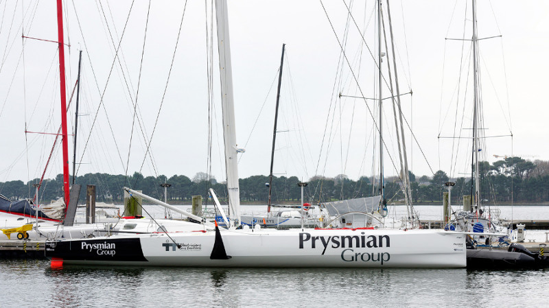 """Prysmian Group y Giancarlo Pedote juntos en la regata más exigente del mundo """"Vendée Globe 2020"""""""