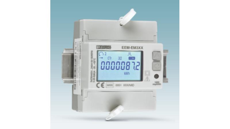 Medición, comunicación y facturación de datos energéticos con los contadores Phoenix Contact