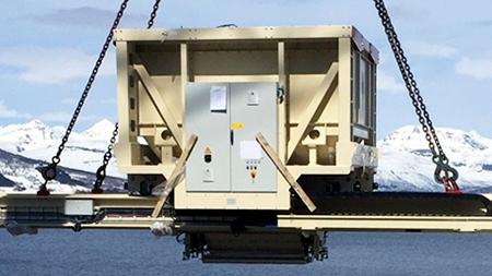 Eldon suministró la instalación eléctrica para un avanzado robot de carga de Van Aarsen