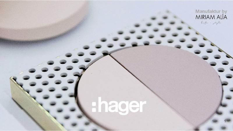 Hager presentó sus soluciones de diseño en mecanismos en BBConstrumat 2019