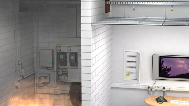 Los sistemas contra incendios de OBO cumplen los tres objetivos de la protección pasiva contra incendios