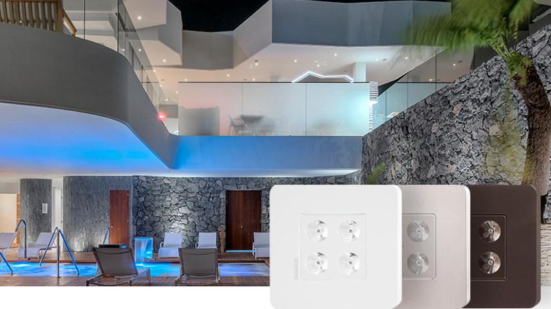 La luminaria Ziner de Daisalux destaca por su alta eficiencia y menor tamaño del circuito electrónico