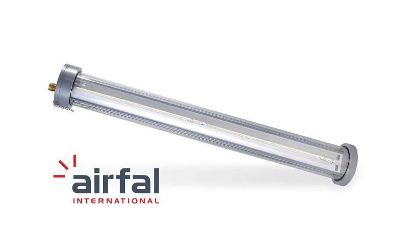 Airfal ofrece luminarias que permiten controlar todo lo que ocurre en las instalaciones industriales