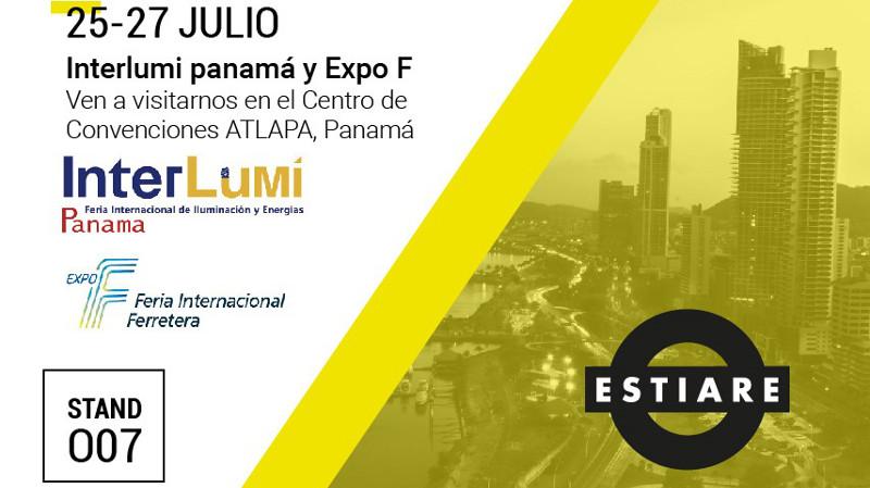 ESTIARE estuvo presente en Interlumi Panamá, la Feria Internacional de Iluminación y Energía de América Latina