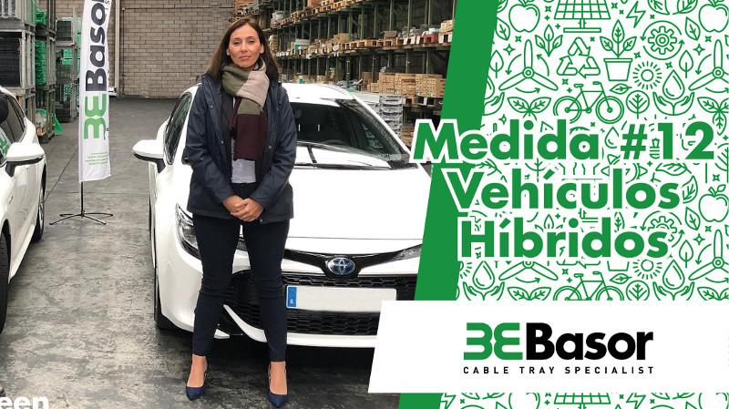 Basor en su compromiso con la reducción de emisiones dota a su equipo comercial de vehículos híbridos