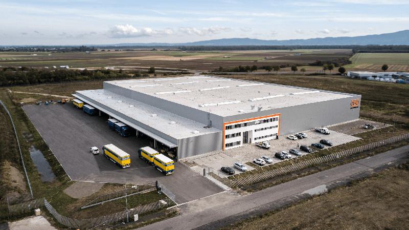 OBO Bettermann continúa creciendo y abre un nuevo almacén de distribución en Groß-Rohrheim