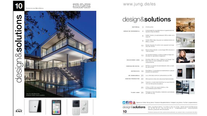 La última edición de la revista design&solutions celebra los 20 años de Jung Ibérica