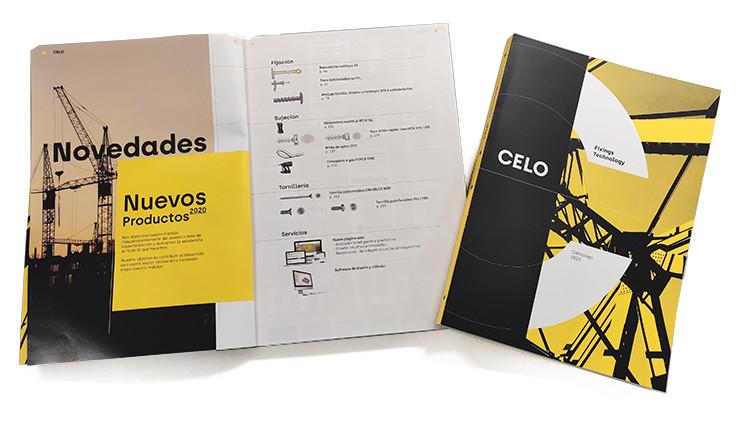 FORCE ONE e InsertFIX son las grandes novedades del nuevo catálogo 2020 de CELO