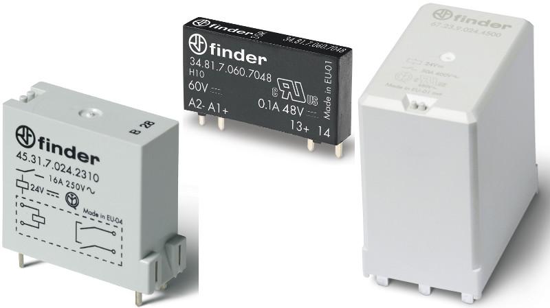 De la tecnología de accionamiento a la energía solar con los relés para montaje de PCB de Finder
