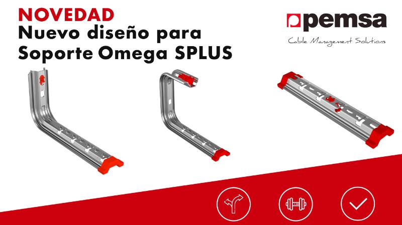 El nuevo diseño para el sistema de soportes Omega Splus de Pemsa facilita la instalación