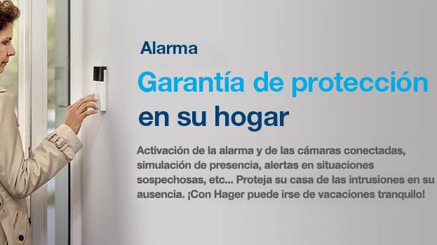 La nueva alarma de Hager para el controlador coviva aporta mayor seguridad