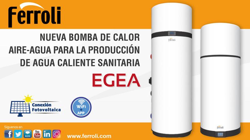 La nueva bomba de calor aire-agua EGEA de Ferroli aporta un elevado rendimiento y fiabilidad