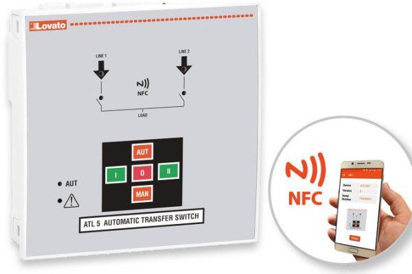 nuevo conmutador automático de Red ATL 500 de Lovato Electric