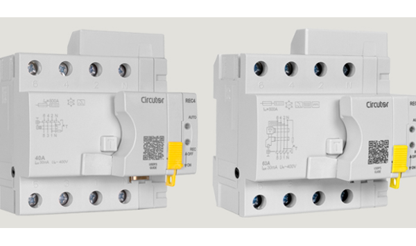 CIRCUTOR presenta sus nuevos interruptores diferenciales autorrearmables REC