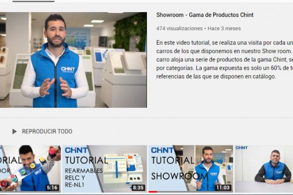 Chint Electrics crea un canal de vídeo tutoriales para apoyar al instalador