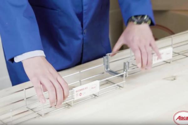 sistema UNIFAST de bandejas portacables de Aiscan