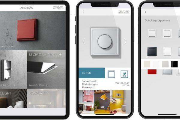 JUNG lanza la app de realidad aumentada AR-Studio