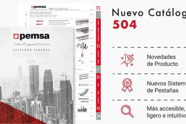 Pemsa presenta su nuevo catálogo general 504