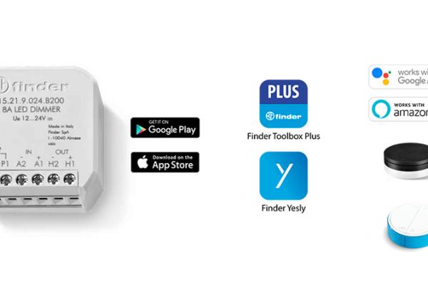 Finder presenta su nuevo Dimmer perfecto para controlar tiras LED