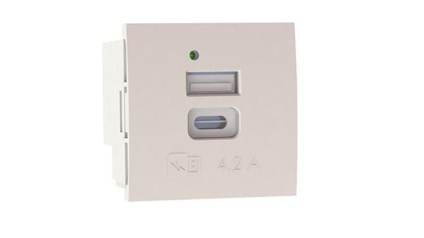 MMCONECTA presenta nuevo producto que integra dos cargadores USB