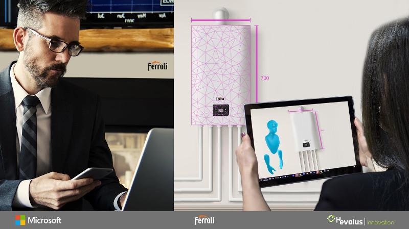 Ferroli se asocia con Microsoft y Hevolus