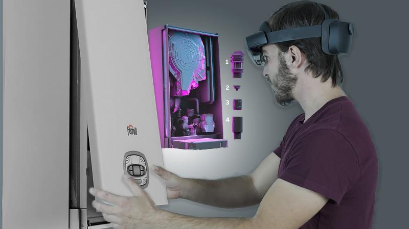 Ferroli se asocia con Microsoft y Hevolus: Cloud Computing y Realidad Mixta al servicio de instaladores